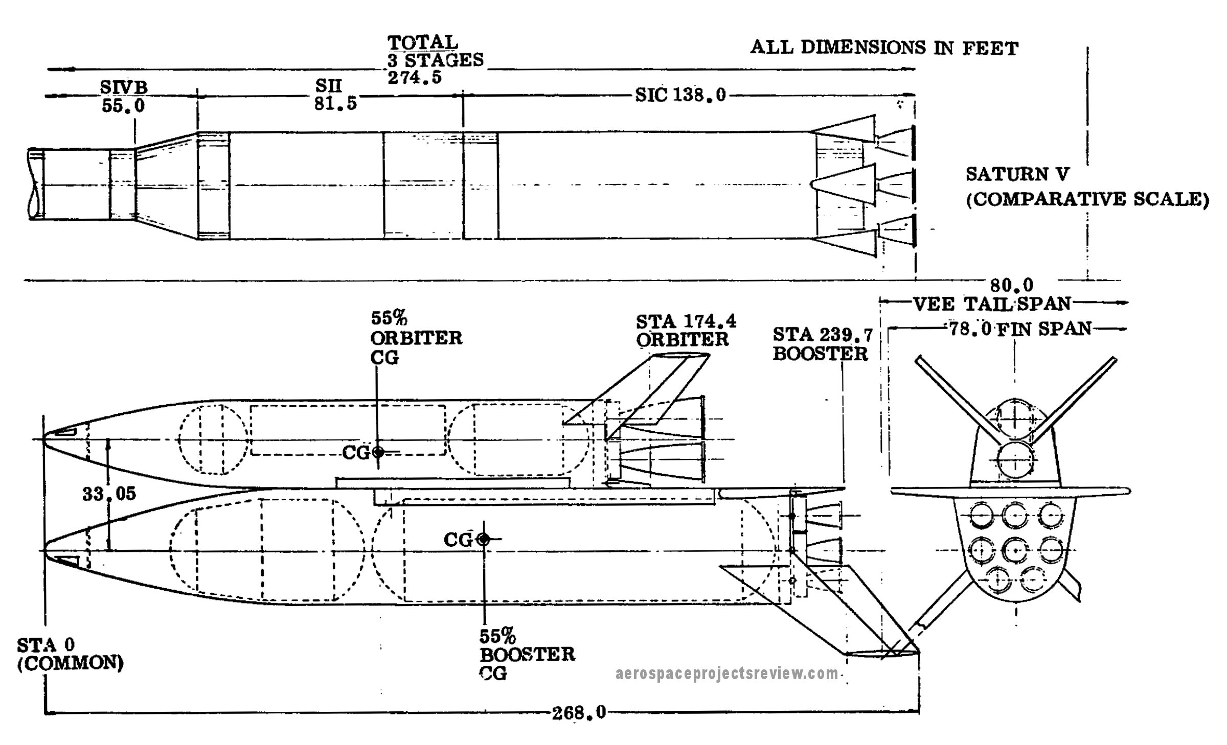 space shuttle dimensions - photo #23