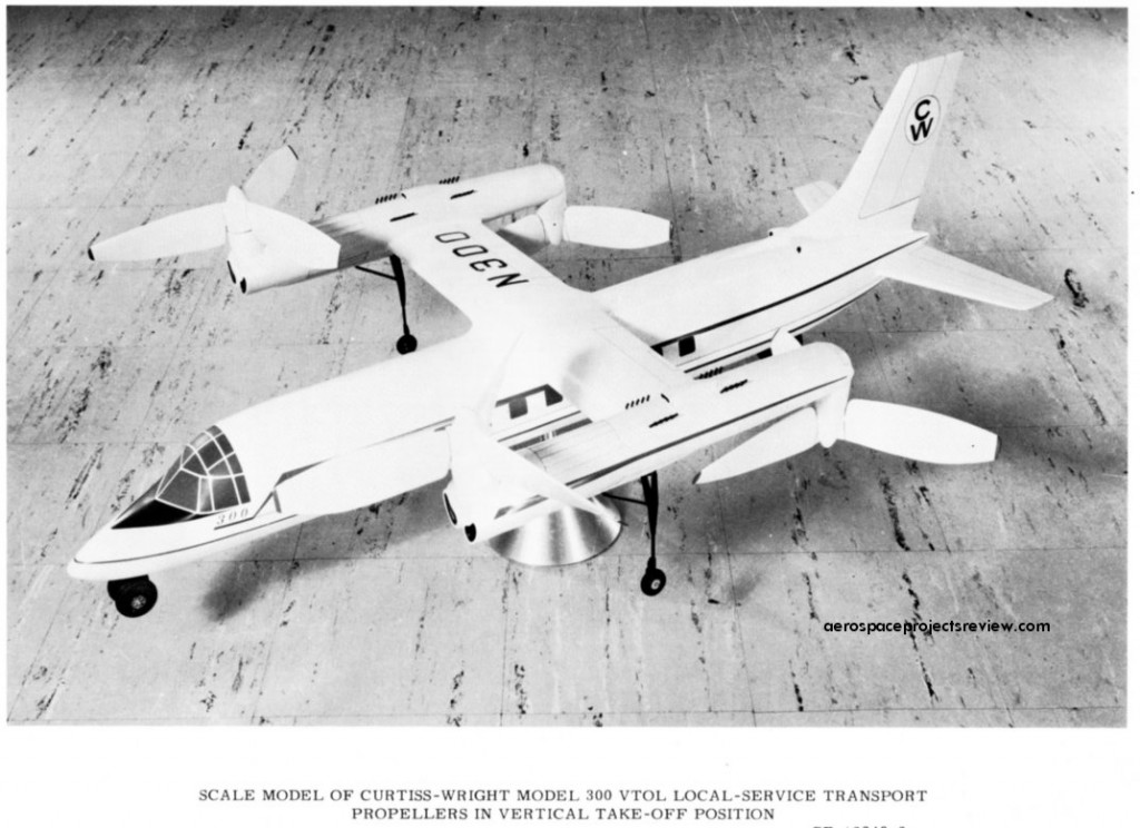 Curtis-Wright Model 300 VTOL Local Service Transport