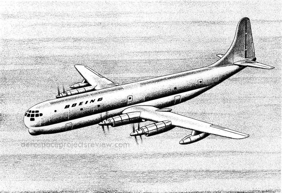 Boeing Model 367 airliner art – The Unwanted Blog