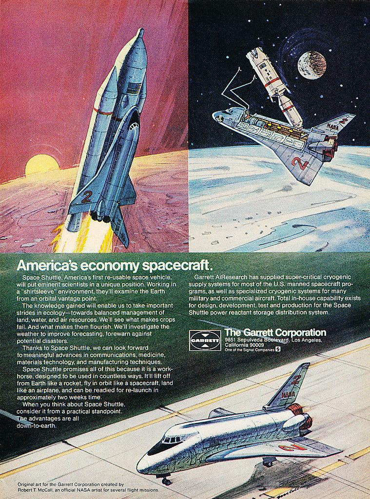 1973 garrett shuttle ad