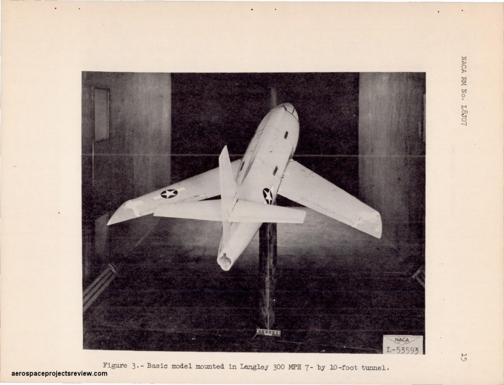 swept wing X-1 2