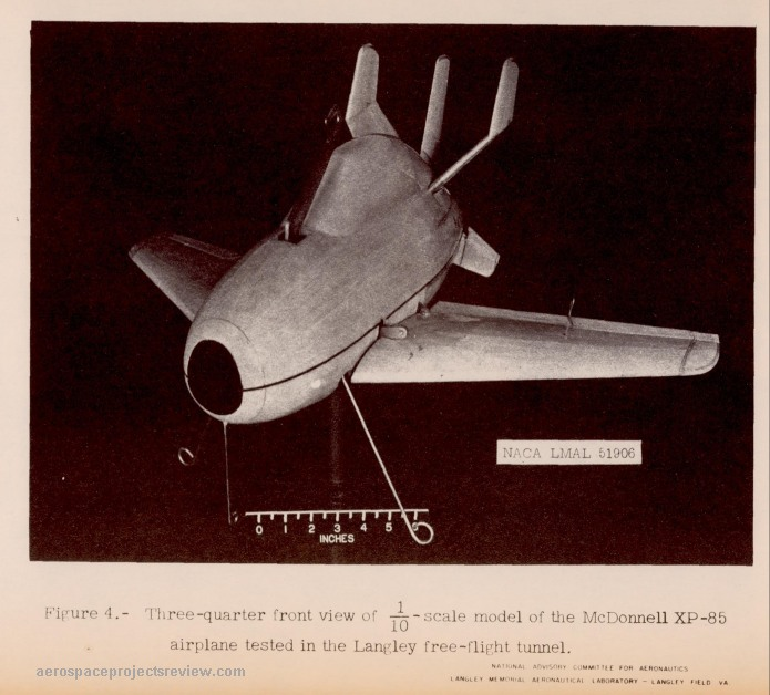 Pages from Stability and Control Characteristics of a 1 10-Scale Model of the McDonnell XP-85 Airplane While Attached to the Trapeze_Page_03