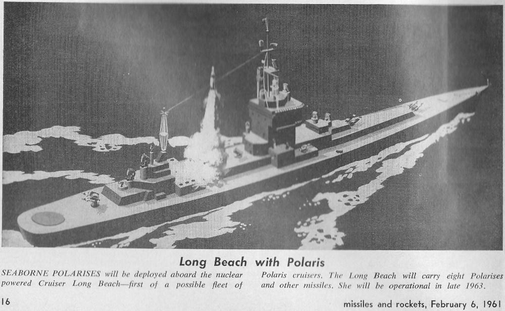 missiles and rockets feb 61 polaris long beach