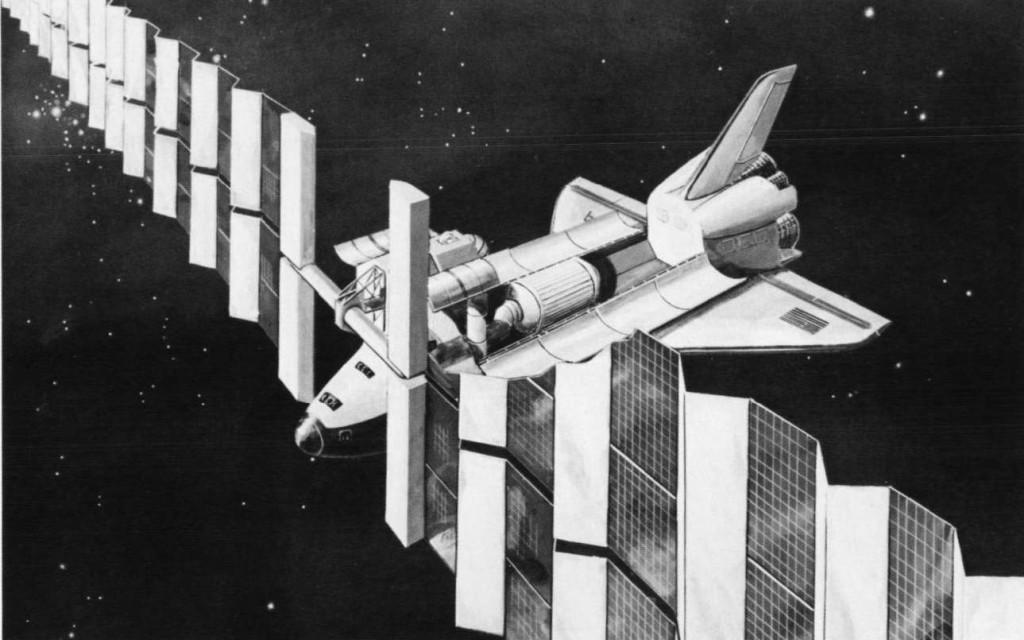 rockwell 77 shuttle power art