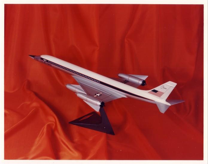 Convair 59-9 SST display model