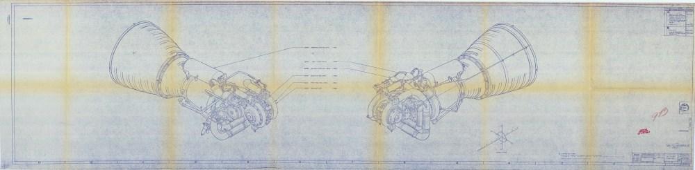 Atlas booster engine