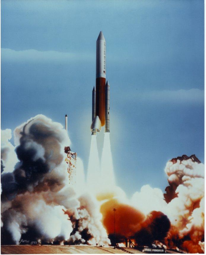 MM Inline Shuttle Derived Vehicle 1985