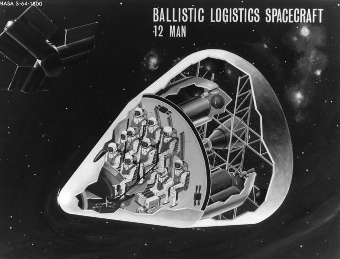 Apollo 12 Man Logistics