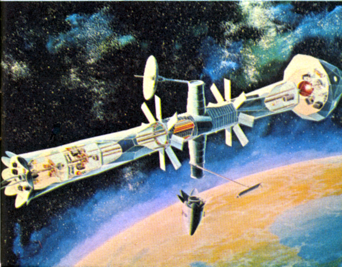 northrop space station