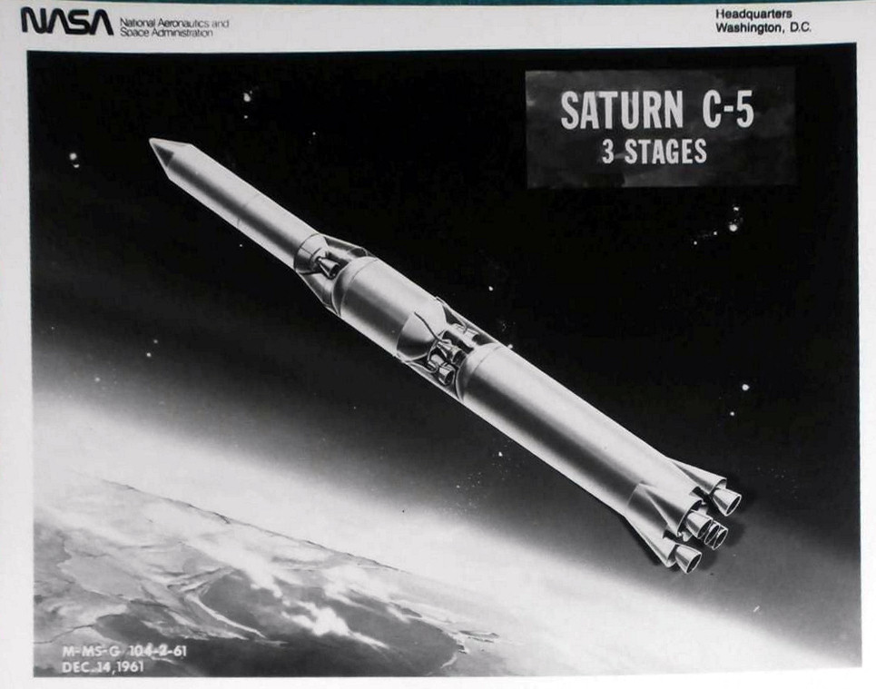 saturn c5 3 stages