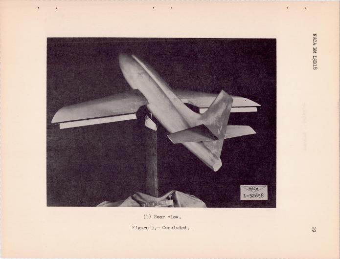 swing-wing X-1 b