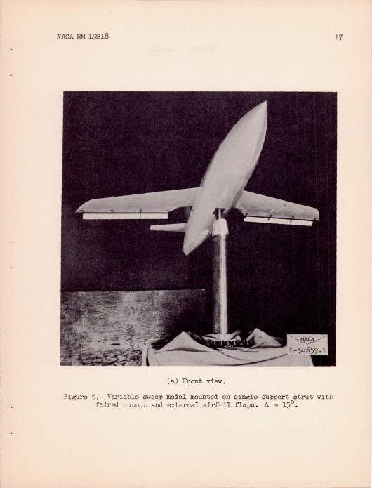 swing-wing X-1 c
