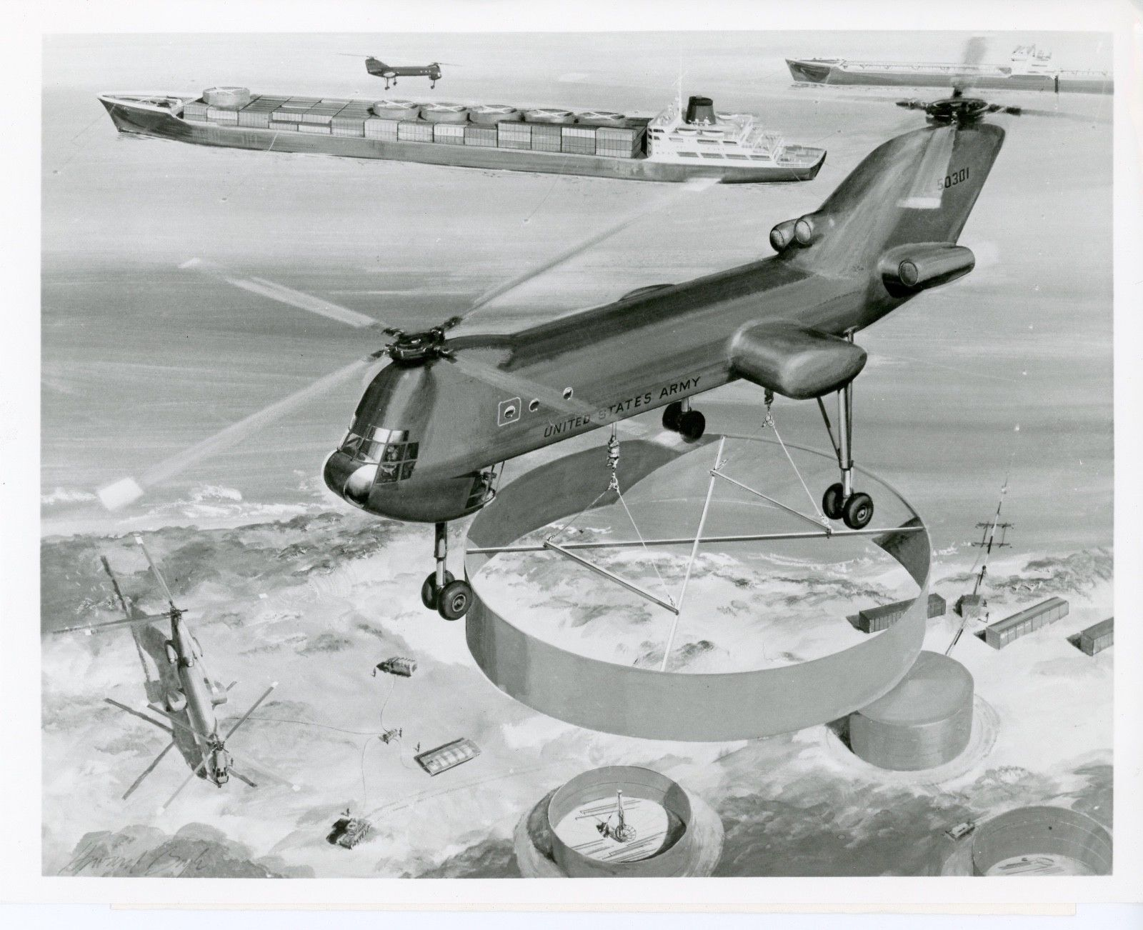 Vtol Aerospace Projects Review Blog Schematic August 1958 American Modeler Airplanes And Rockets Boeing Hlh Art 2